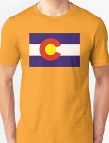 colorado state flag Unisex T-Shirt