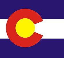 colorado state flag by tony4urban