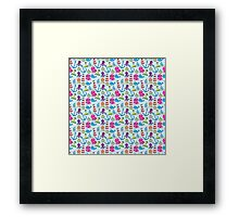 Sea pattern Framed Print