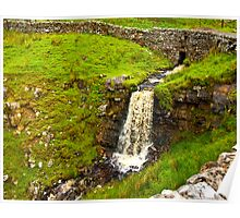 Dales Waterfall Poster