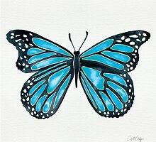 Blue Morpho Butterfly by Cat Coquillette