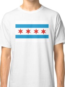 chicago flag Classic T-Shirt