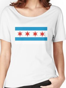 chicago flag Women's Relaxed Fit T-Shirt