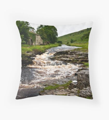 River Cottage  (River Wharfe) Throw Pillow