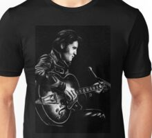 Elvis Presley Pencil Portrait Art Unisex T-Shirt