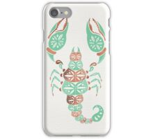 Scorpion – Mint & Rose Gold iPhone Case/Skin