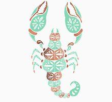 Scorpion – Mint & Rose Gold Unisex T-Shirt