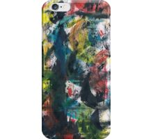Colored waves iPhone Case/Skin