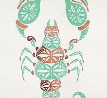 Scorpion – Mint & Rose Gold by Cat Coquillette