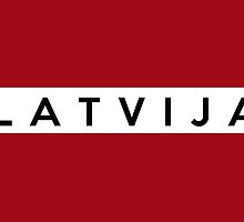 flag of latvia by tony4urban