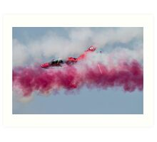 The Red Arrows Art Print