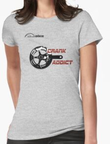 Cycling T Shirt - Crank Addict Womens Fitted T-Shirt
