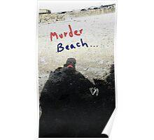 """Murder Beach"" by Richard F. Yates Poster"