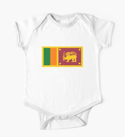 flag of Sri Lanka One Piece - Short Sleeve