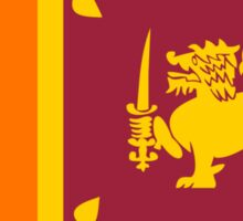 flag of Sri Lanka Sticker