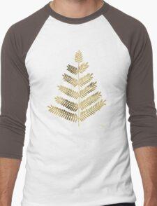 Gold Leaflets Men's Baseball ¾ T-Shirt