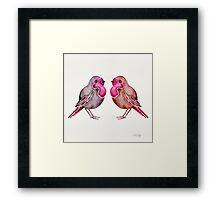 Rosie Birds Framed Print