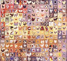 238 Chickens by Karl Frey
