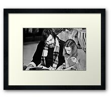 Script Review Framed Print