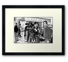 Director of Photography Framed Print