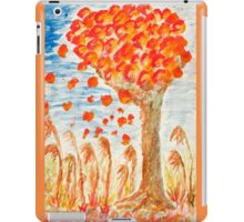 Autumn tree on the wind iPad Case/Skin