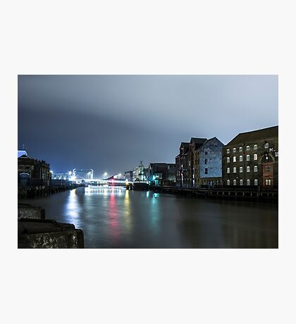 Hull Marina  Photographic Print