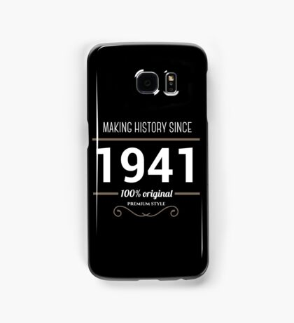 Making historia since 1941 Samsung Galaxy Case/Skin