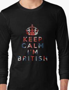 I'm British Long Sleeve T-Shirt