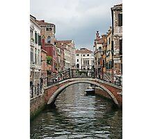 Colourful Venice Photographic Print