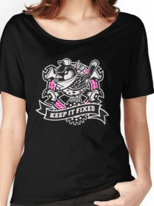 KEEP IT FIXED Women's Relaxed Fit T-Shirt