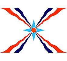 assyrian people flag Photographic Print