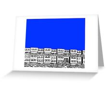 Ashfield Valley Flats Rochdale Greeting Card