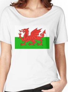 wales flag Women's Relaxed Fit T-Shirt