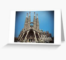 La Sagrada Familia Greeting Card
