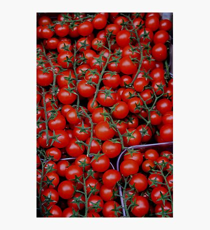 At a Vegetable shop Photographic Print