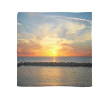 Seven Mile Caribbean Island Sunset  Scarf