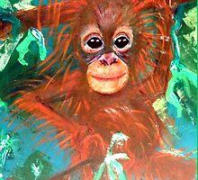 Baby Orangutan by preciousp