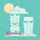 Easter Island Summer Fun by Teo Zirinis