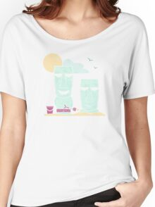 Easter Island Summer Fun Women's Relaxed Fit T-Shirt