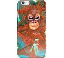 Baby Orangutan iPhone Case/Skin