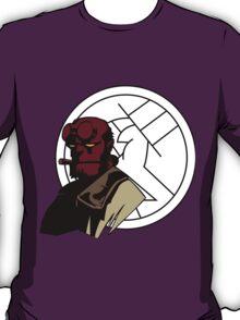 Minimalist Hellboy B.P.R.D. T-Shirt