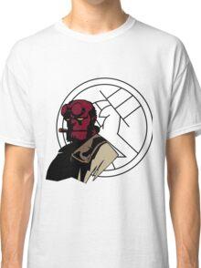 Minimalist Hellboy B.P.R.D. Classic T-Shirt