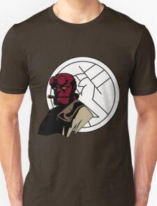 Minimalist Hellboy B.P.R.D. Unisex T-Shirt