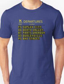 departures leaving now  T-Shirt