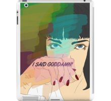 Mia Wallace, Pulp Fiction iPad Case/Skin