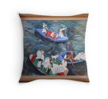 Boat Traders, Nile Throw Pillow
