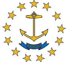 rhode island state flag by tony4urban