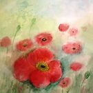 Lovely Poppies by Esperanza Gallego