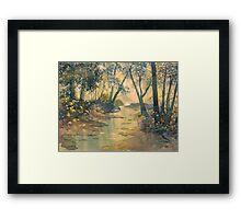 Glade o'Green Framed Print