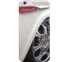 Chevrolet Classic 3124 Pick Up Truck in White iPhone Case/Skin